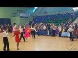 Спортивные бальные танцы, дети1 2018 Children are dancing ballroom dance