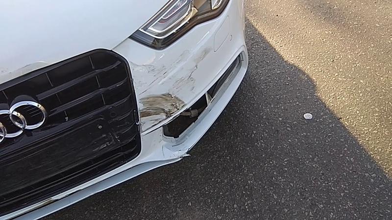 Audi Ростов-на-дону авария Вятская