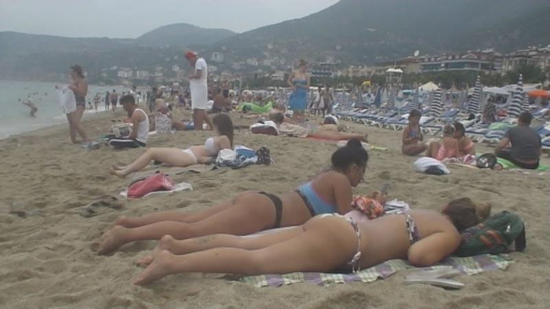 Турция Аланья Пляж Клеопатры - 33 Turkey Alanya Cleopatra beach Kleopatra Plajı Strand الشاطئ