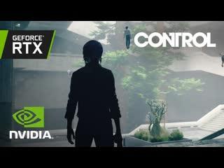 Control: geforce rtx демо трассировки лучей - gdc 2019