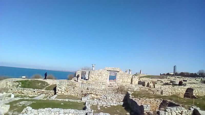Развалины древнего ХерсонесаХерсонесКрым.
