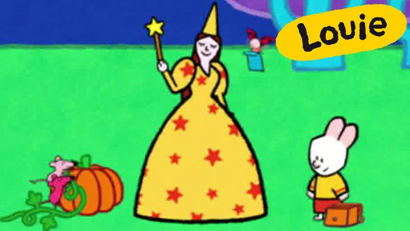 Louie, draw me a fairy | Learn to draw cartoon for kids