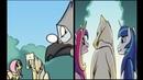 Комикс-Ночь, в которую умерла магию.9 часть