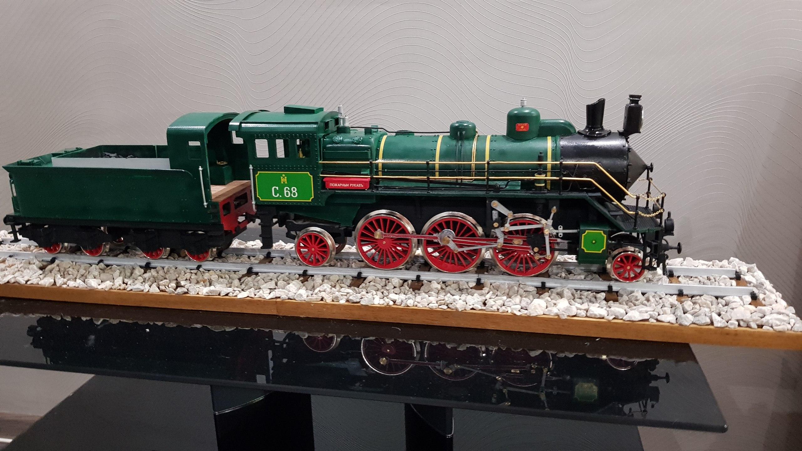 Модель паровоза С-68 масштаб 1:32 LT9n42p8sCg