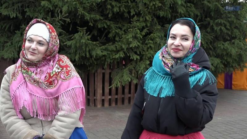 Воскресный концерт у новогодней ёлки от Волковысской ДШИ