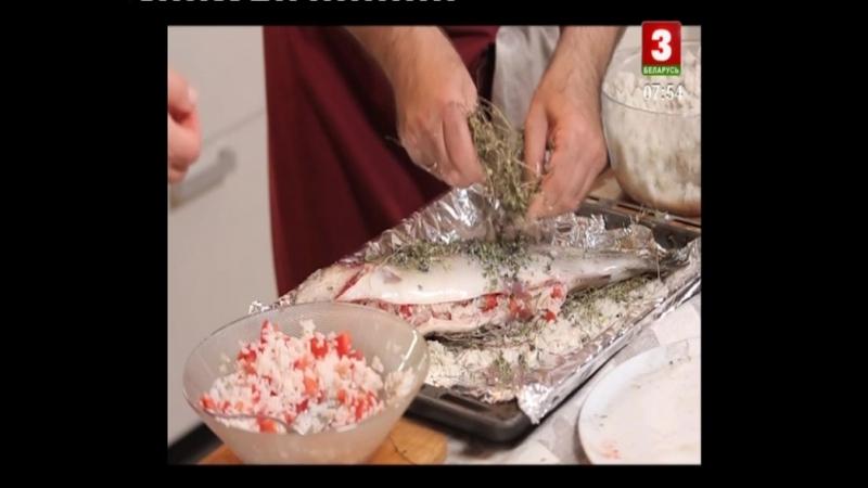 42 Беларуская кухня Юшка и рыба на соломе