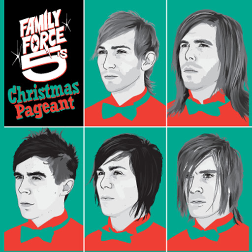 Family Force 5 альбом The Family Force 5 Christmas Pageant