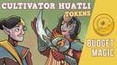 Budget Magic: Cultivator Huatli Tokens (Standard)