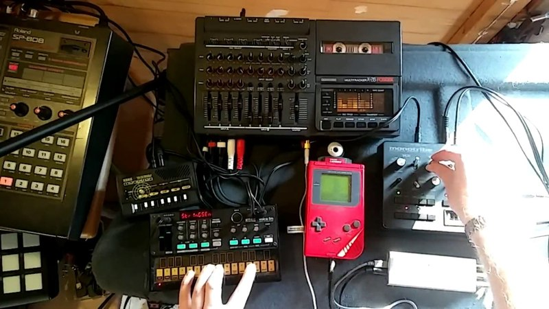 TRIPPY H Game Boy, Monotribe and Volca fm jam