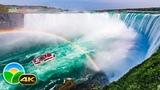 The Amazing Niagara Falls in 4K - Relaxing Piano Music - 4k UHD TV Screensaver