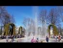 фонтан у собора св.Петра и Павла в г.Петергофе май
