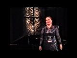 Поет Елена Михайлова, сопрано. Народная Артистка Татарстана, Заслуженная Артистка РФ, профессор