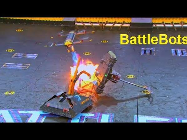 Batalla de Robots (BattleBots) drone, minotaur, bronco, complete control