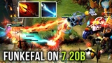 How to Tinker on New Patch 7.20b by Funkefal Best Tinker Spammer Dotabuff Rank 1 - Dota 2