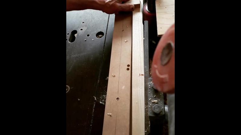 Изготовление фрезерованых балясин для лестницы