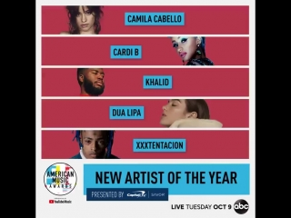 AMAs 2018 l New Artist of the Year Nominees