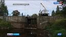 В Петрозаводске расчистили участок реки Лососинки от крупногабаритного мусора