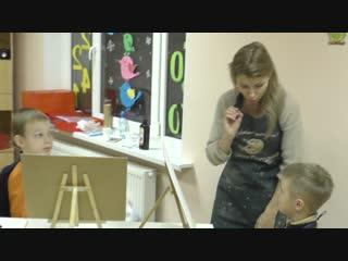 Мастер-класс по живописи маслом на английском языке