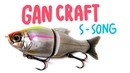 Gan Craft Jointed Claw S Song 115 F | Fishing Lures Review | Обзор воблера
