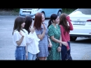 180817 레드벨벳 Red Velvet 전체 출근길 BY 철이 147Company kbs 뮤직뱅크 신관공개홀 직캠 fancam