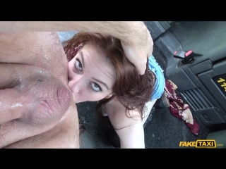 Faketaxi - anna de ville [ anal, ass licking, rimjob, deep throat ]