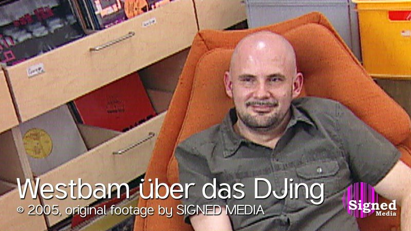 Westbam über das DJing (2005)