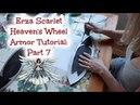 Erza Scarlet Heaven's Wheel Armor Cosplay, Part 7