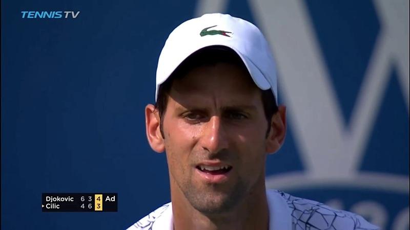 Novak Djokovic vs Marin Cilic [Highlights HD] - Cincinnati Masters 2018