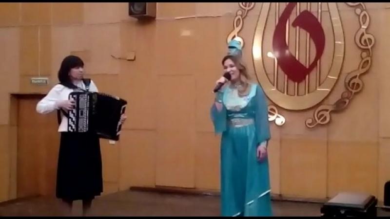 Фрагмент татарской народной песни Илкэем