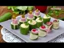 Закуски из огурцов | Больше рецептов в группе Кулинарные Рецепты