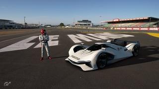GT SPORT - Mazda LM55 VGT GT1 - Circuit de la Sarthe (24h Le Mans) - Time Attack - 2:59.356
