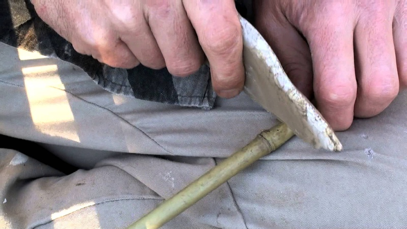 Making the Spear and Spear Thrower Part 2 HD