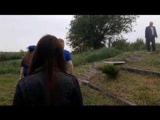 🇷🇺Возложение корзины к памятнику на переулке Коллективном.