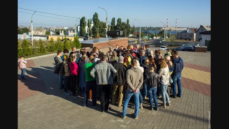 Создание «Линии ратной славы» в Воронеже
