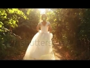 Stock-footage-bride-running-in-forest-slow-motion-