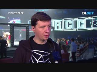 RCC 5: Дмитрий Лучников будет катменом Шлеменко и Штыркова | FightSpace