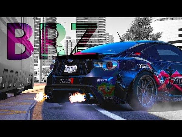Forza Horizon 3 Drifting Montage | BRZ Downtown Real Live Drift Showcase | RLS 1 |
