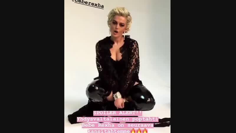 Bebe Rexha for Cosmopolitan