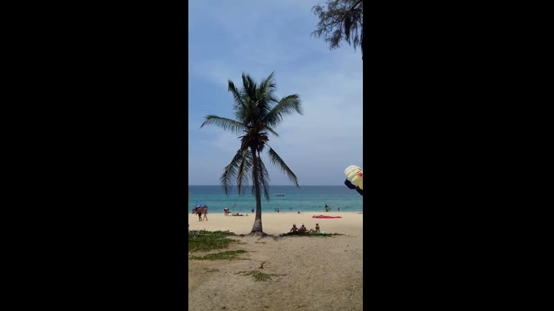пляж Карон, о. Пхукет, Тайланд.