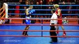 Riga Open 2014 Final 64 kg Arturs AHMETOVS Latvia VS Edvinas PUPLAUSKAS Lithuania proboxing.eu