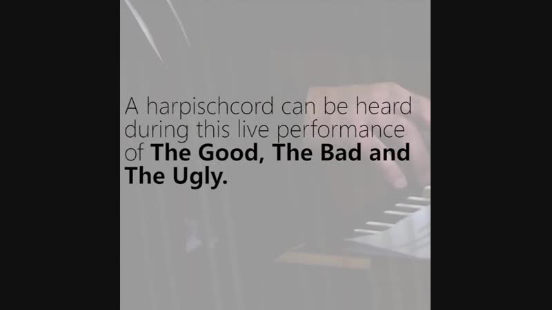 The Instruments of Morricone - Part 5- Harpsichord - Ennio Morricone - The Morricone Duel