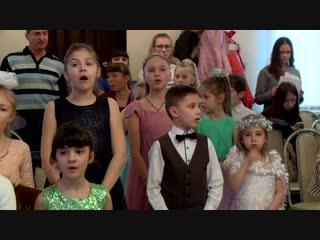 Рождественский утренник в Воскресной школе собора