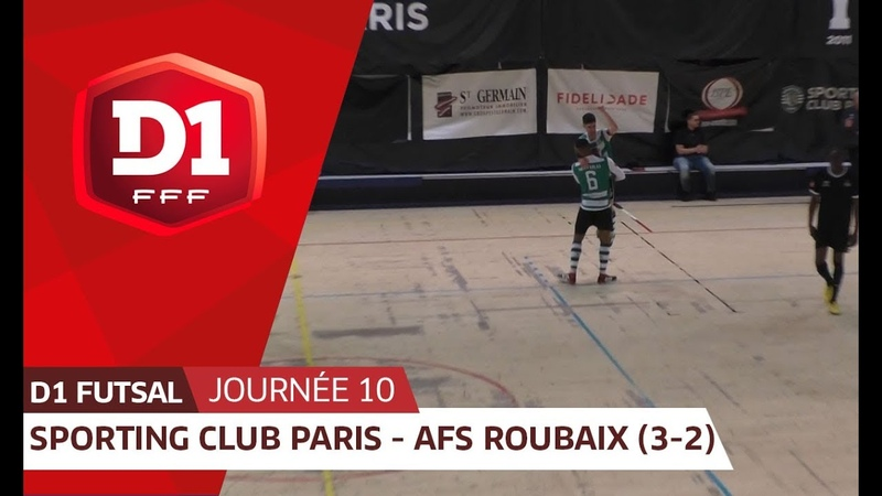 J10 : Sporting Club Paris - AFS Roubaix (3-2)