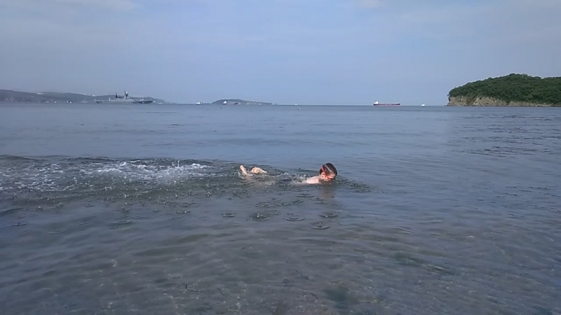 Мой дельфинёнок в Тихом океане)