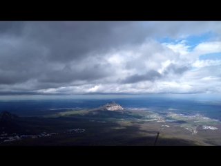 Тайм лапс с горы Бештау