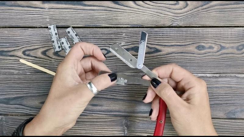 Как вставить лезвие в бритву шаветт   Prostar.by