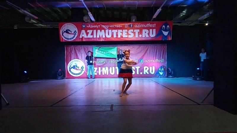 Визитка на международном конкурсе-фестивале хореографического искусства