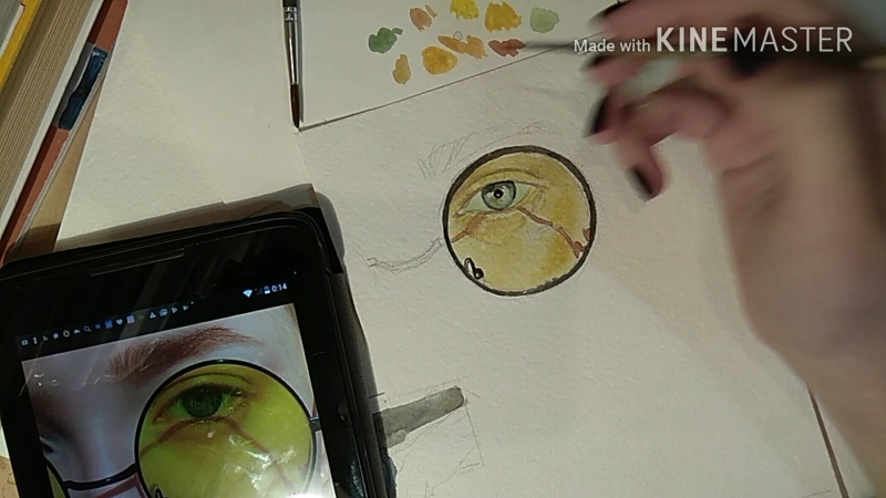 Watercolor speed painting 1
