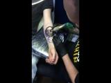 PARADOX Татуировка в Томске, лазерное сведение — Live