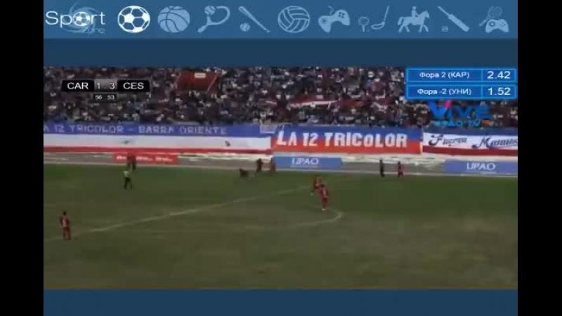 Чемпионат Перу 2018 Спорт Бойс - Депортиво Муниципал Последние 30 минут матча